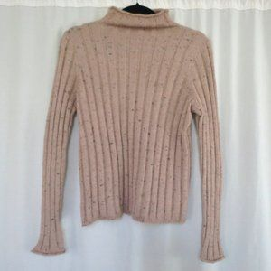 Madewell Sweater M NEW Mock neck pullover Pink